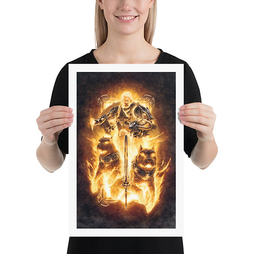 God Of Battle - Print