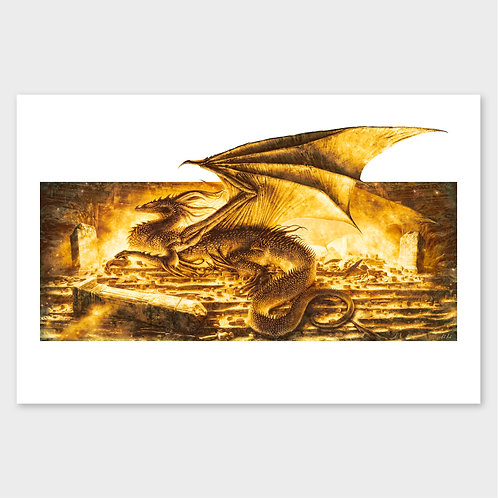 Smaug The Magnificent - Print