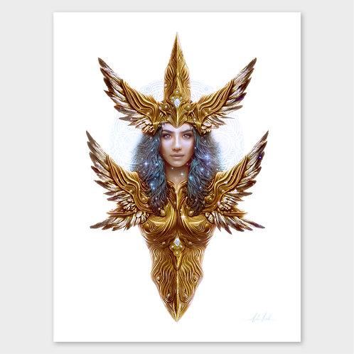 Goddess Of Salvation - Print