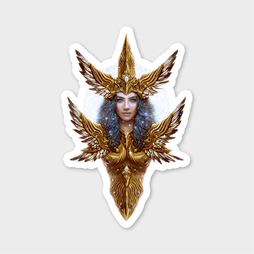 Goddess of Salvation - Sticker
