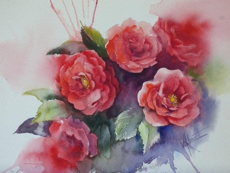 Véronique Albert, aquarelles, huiles...