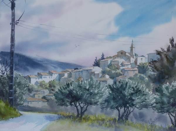 Route de Crillon le Brave