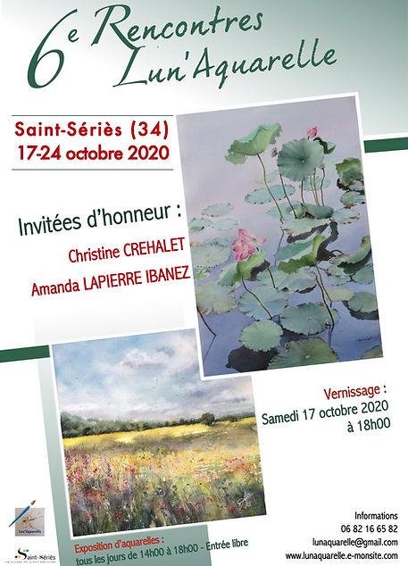 Exposition Véronique Albert Lunaquarelle