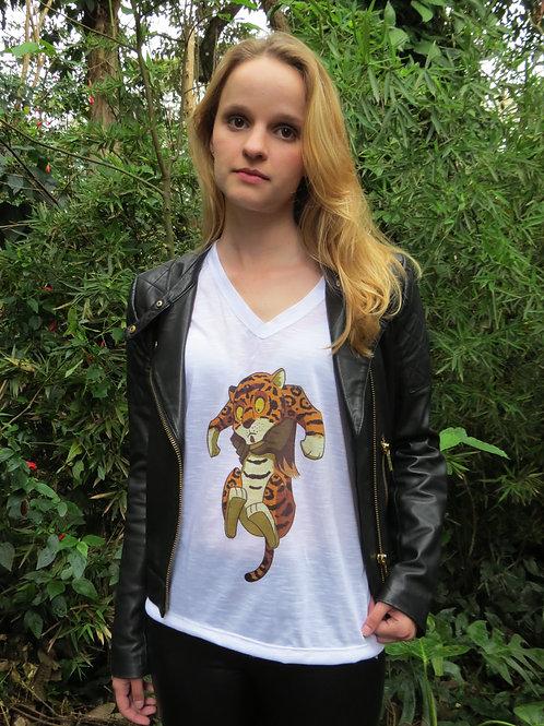 camiseta amazônia feminina