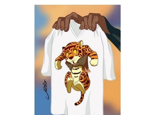camiseta amazônia masculina