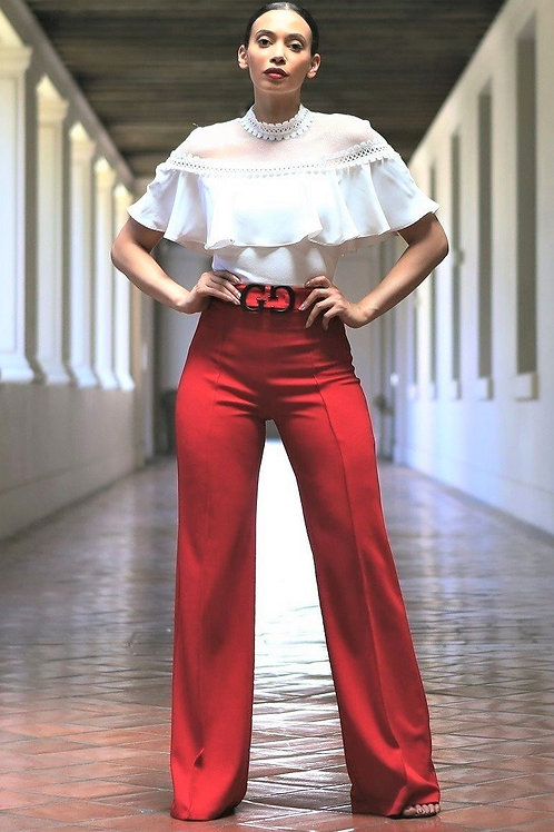 The Gorgeous Belted Chic Pants