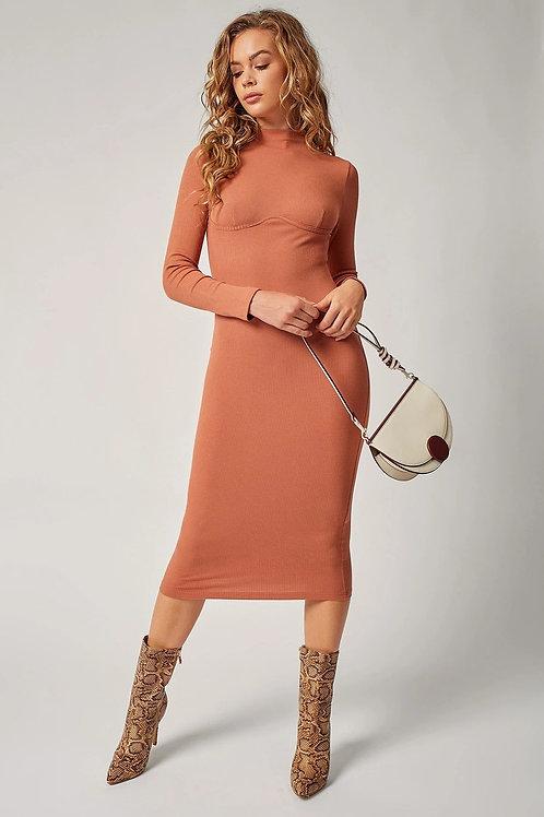 Bascially Cute Mock Fall Dress