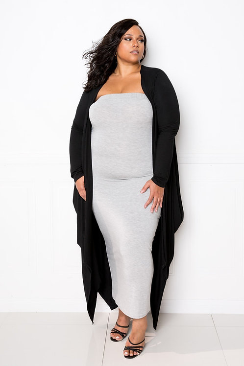 Cocoonly Long Waterfall Cardigan