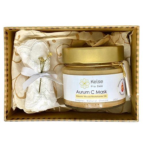 Kit Venus - beleza instantânea com vitamina C e ouro 24k