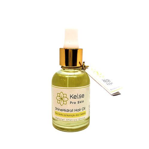 ShineHidrat Hair Oil  Brilho e Nutrição dos Cabelos  30 ml