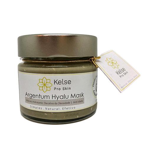 Argentum Hyalu Mask | Máscara Hidratante | Secativa da Oleosidade | Anti-idade