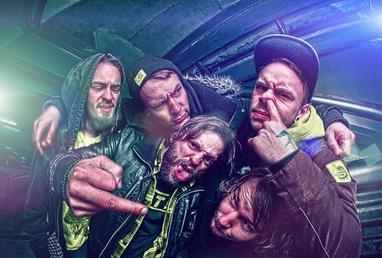 HDR Photography (hardcore metal band Sverm)