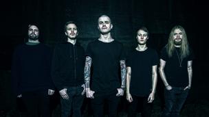 Promotional photo for modern metal band Fretmiden