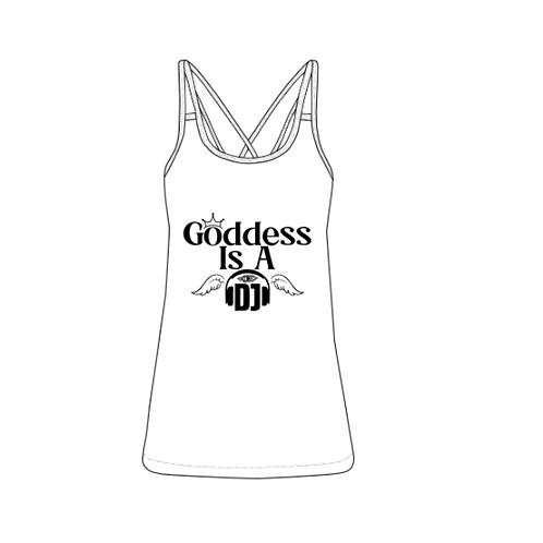 Goddess Is A DJ Women's Vest