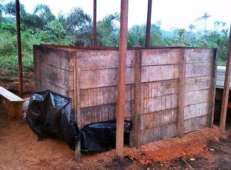 cacao Bio Côte d'Ivoire- caisse de fermentation
