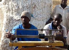 marché coton autogéré-peseur