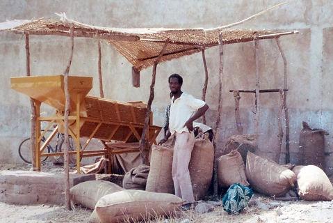 Projet développement Rural Goual Kundara-criblage arachid