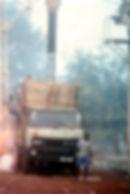 Filière coton Guinée Bissau-UGA-camion sous l'aspiration