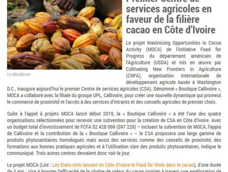 Des centres de services en faveurs des cacaoculteurs ou des distributeurs d'intrants ?
