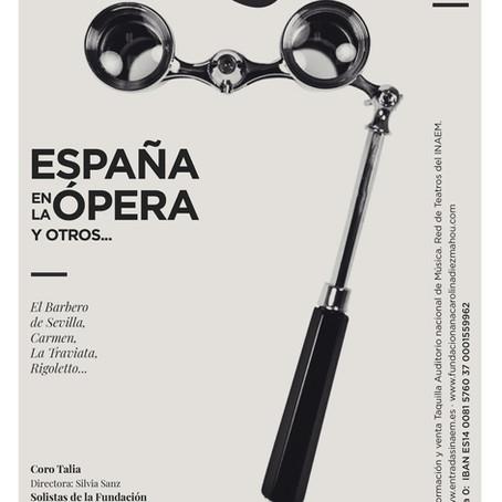 España en la ópera: concierto solidario
