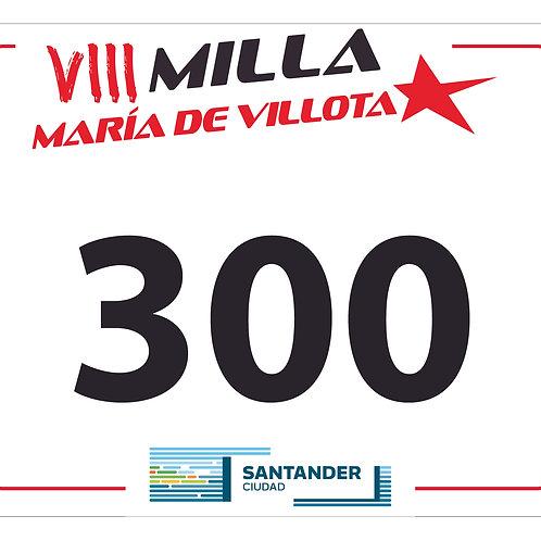 INSCRIPCIÓN VIII MILLA MARÍA DE VILLOTA