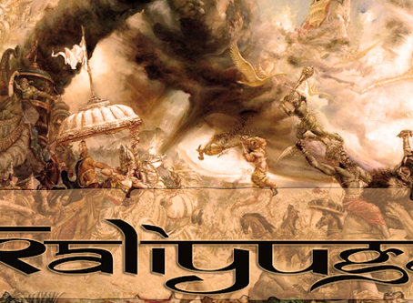 """The last few years of the """"END of KALI-YUGA"""""""