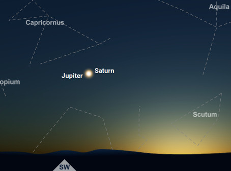 "SATURN JUPITER ""FATHER OF ALL CONJUNCTIONS"" Dec 21st, 2020"