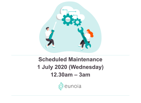 Scheduled Maintenance 1 July 20 12.30am to 3am SGT