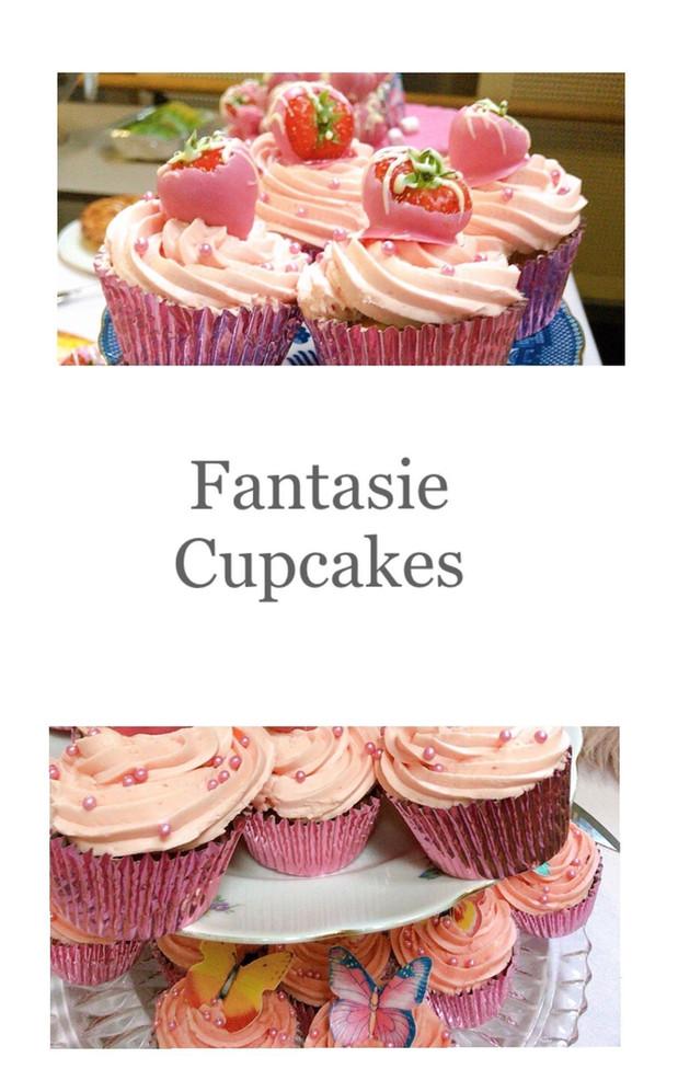 Fantasie cupcakes