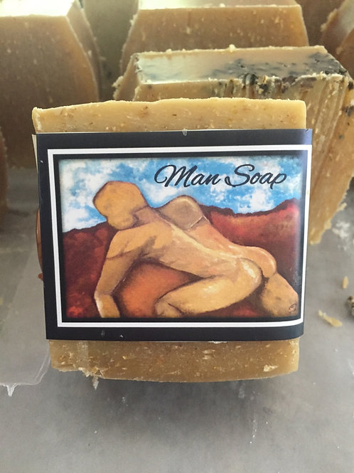 Cigar and Vanilla Man Soap