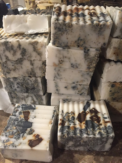 Goats Milk and Shea Butter with Activated Charcoal