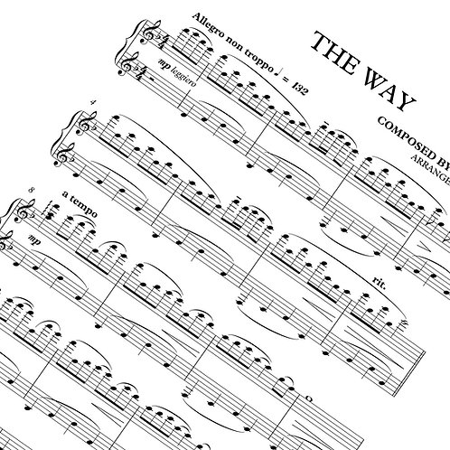 The Way - Sheet Music (Download)