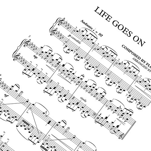 Life goes on - Sheet Music (Download)