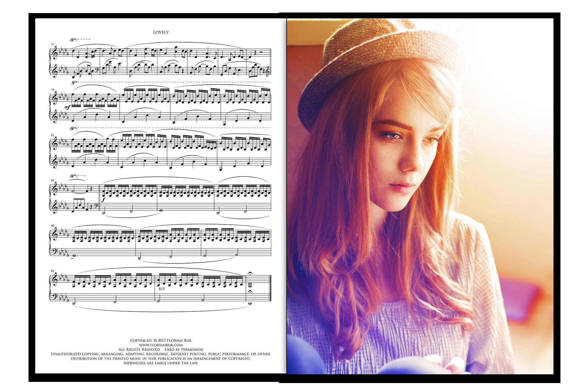 Sheet Music Booklet