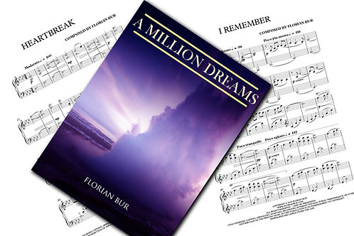 "Full Album ""A Million Dreams"" - Sheet Music (Download)"