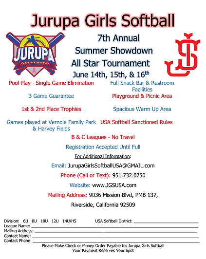 Jurupa Summer Showdown