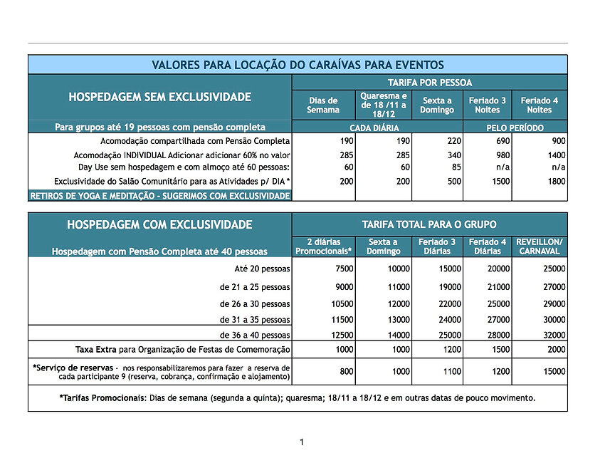 TABELA CARAIVAS - EVENTOS 2020 - REVISAD