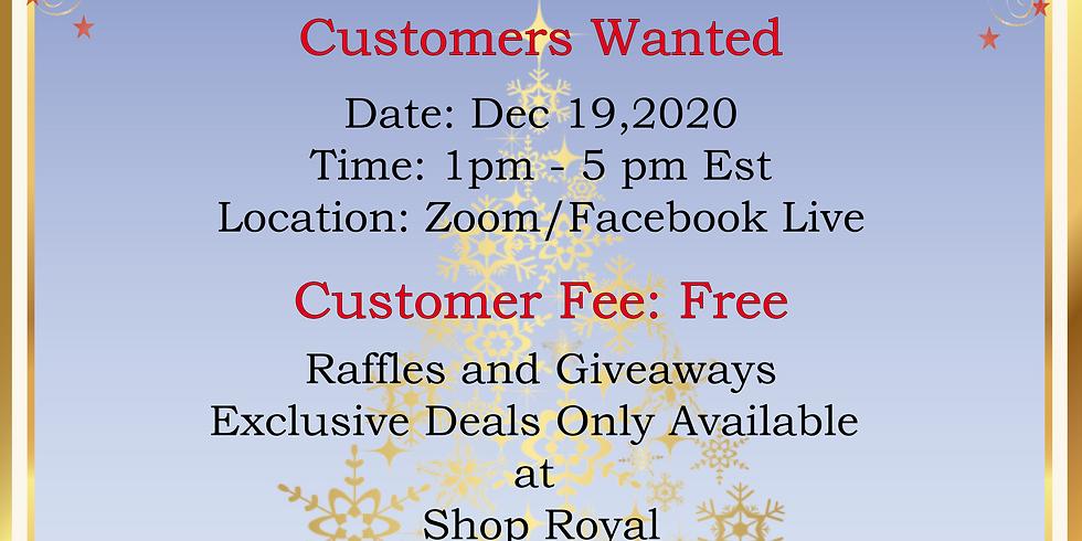 Shop Royal: Last Minute Christmas Shopping Customer