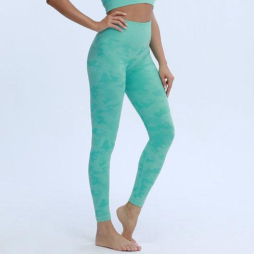 New Colors Camo Seamless Leggings High Waist Booty Scrunch Leggings