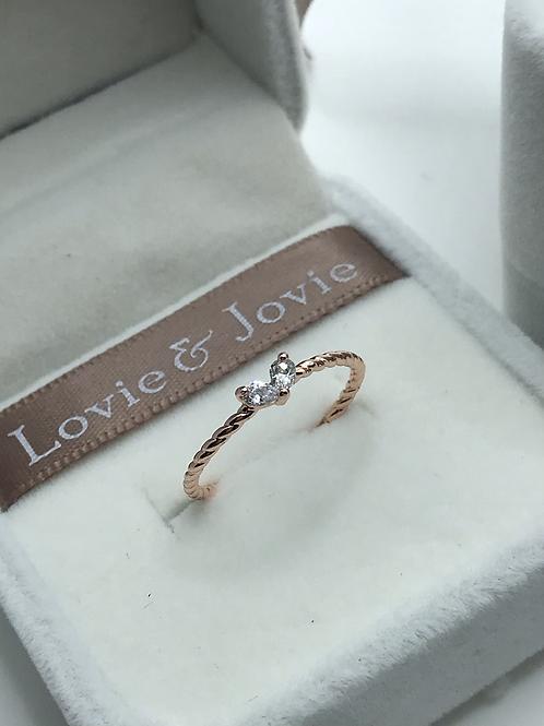 Little sweet heart ring
