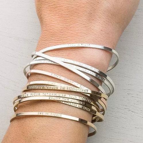 Personalized Engaving Bracelet (JW01034)