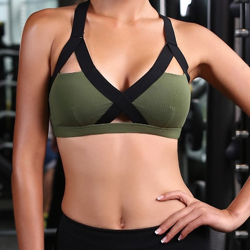 Women's Gym Fitness Yoga Top