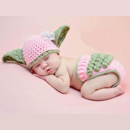 Baby Knitted Photography Costume Cute Cosplay Crochet Photo Suit