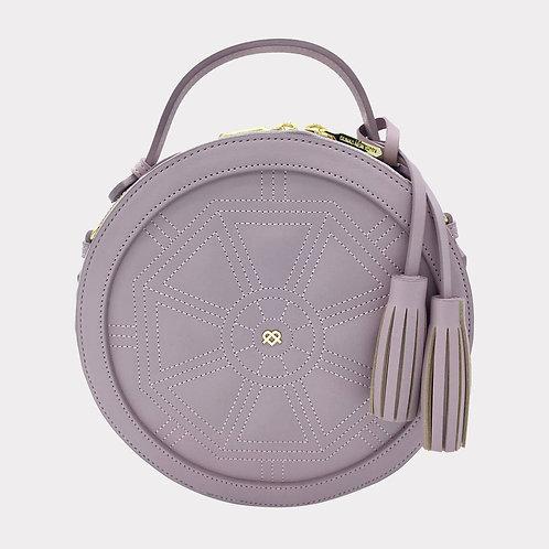 Rotunda - Lilac Vegan Crossbody Bag