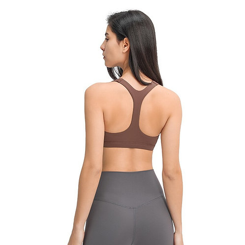 Tops Girls Breathable Fitness Gym Yoga Top