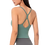 Thumbnail: New Sexy Small Sling Nude Women Yoga Vest