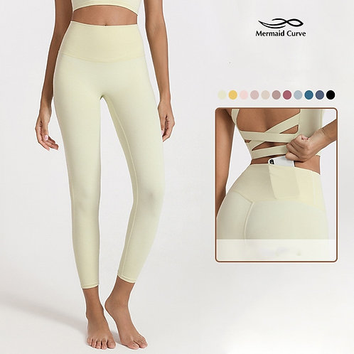 High Waist Hidden Big Pocket Tight Yoga Pants