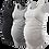 Thumbnail: Cotton Tank Top Flattering Side Ruching Pregnancy Top