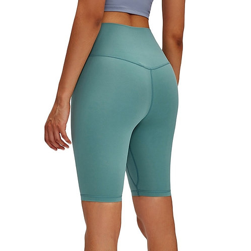 High Rise Short Soft Fabric Tights Yoga Leggings