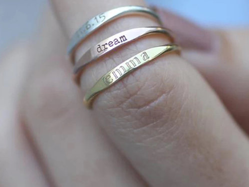 Personalized Name Ring (JW01037)